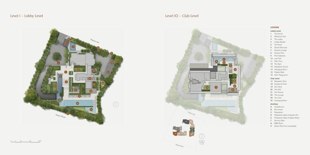 19 Nassim Site Plan Singapore