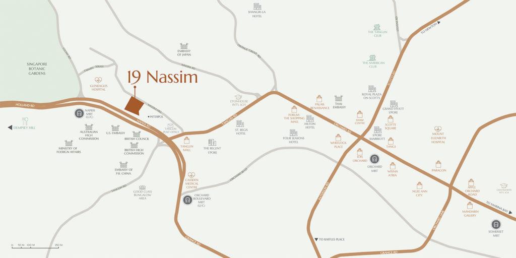 19 Nassim Location map Singapore